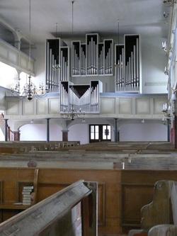 Orgel in Burg/Spreewald