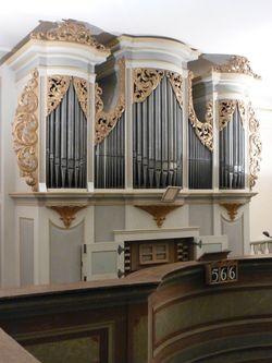 Silbermann-Orgel in Lebusa