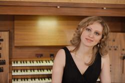 Alina Nikitina (Orgel)